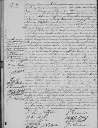 1843-08-26 - Huwelijksakte Antonie van Nuffelen en Willemina van Baalen