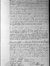 1881-12-08 - Huwelijksakte Frans van Dijk en Cornelia Wilhelmina de Bruijn