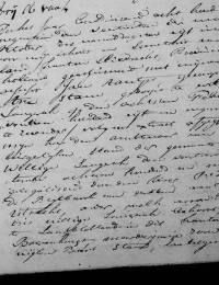 1819-10-14 - Huwelijksakte Arie Stam en Aafje de Bruin (1)