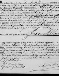 1881-01-26 - Geboorteakte Jan Albert Buitenhuis