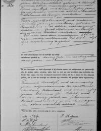 1911-08-09 - Huwelijksakte Maarten van Dijk en Pietertje Molenaar