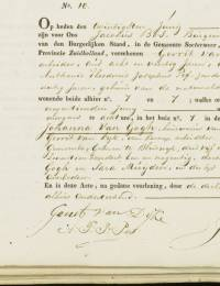 1840-06-19 - Overlijdensakte Johanna van Gogh