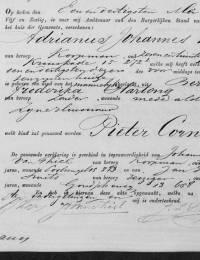 1865-05-31 - Geboorteakte Pieter Cornelis Kop