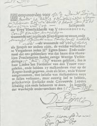 1708-01-15 - Trouwinschrijving Cornelis Gerritsz Maagdelijn en Marijtje Teunisse van Santen