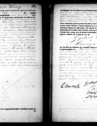 1845-07-18 - Huwelijksakte Gijsbert Verweij en Marrigje Mastenbroek