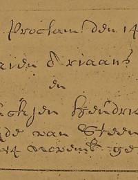 1688-11-14 - Trouwinschrijving Jurien Ariaans en Bauckjen Hendricks