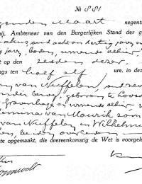 1931-03-09 - Overlijdensakte Abraham van Nuffelen