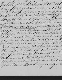 1812-12-31 - Huwelijksakte Dirk van Vuuren en Cornelia Ooms (1)