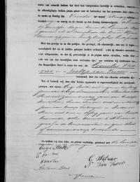 1875-02-15 - Huwelijksakte Cornelis Witzier en Neeltje van Vuren (2)